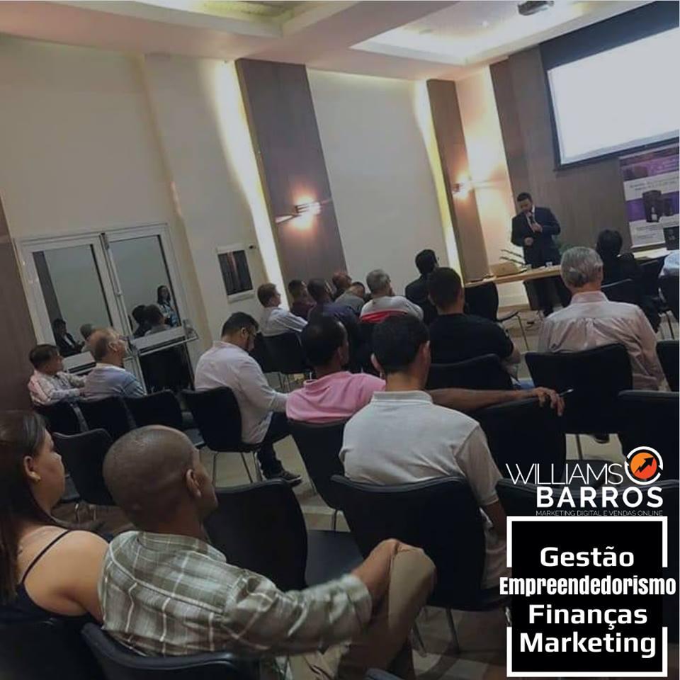 Workshop Solṳ̵es em  Sistemas de Energia РPalestra Lucratividade Empresarial Williams Barros